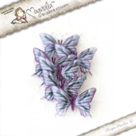 dark lilac butterflies