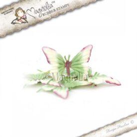 lilac summer meadow butterflies s