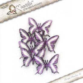 pansies butterflies