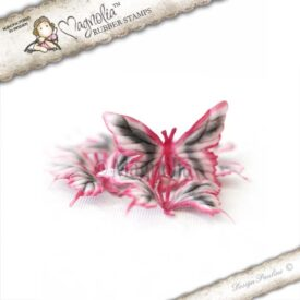 pink summer meadow butterflies  m