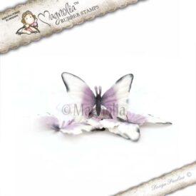 vintage pansies butterflies s m