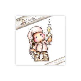 ALC15 Tilda with Christmas Lamp