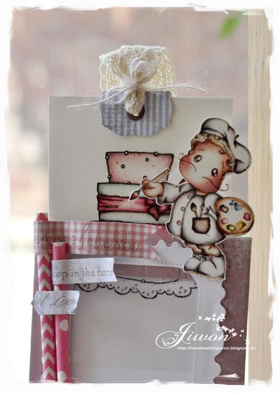 Birthday cake -Magic card