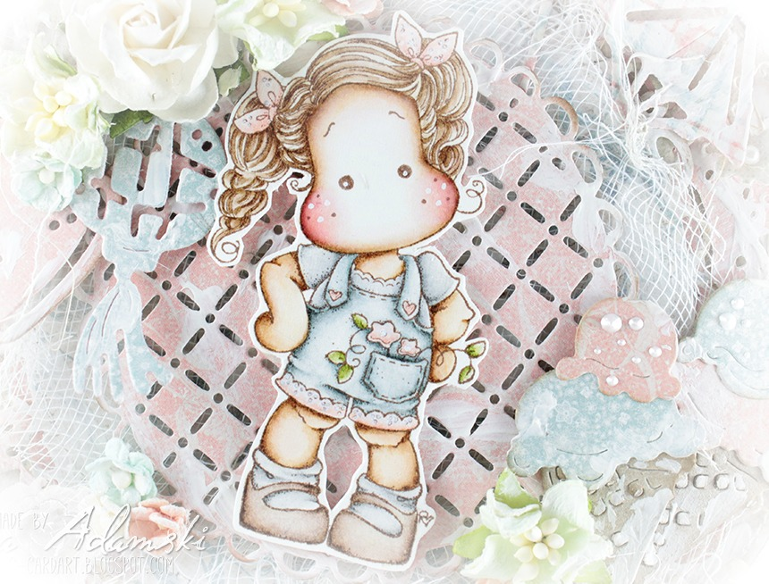 ♥ Tilda from the PopUp Box Vol. 3 { Coloring Video included}  ♥