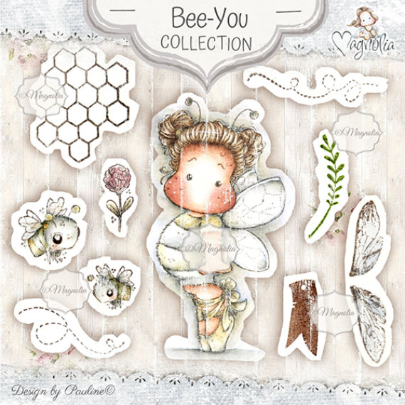 MD-19 Bee-You Art Stamp Kit