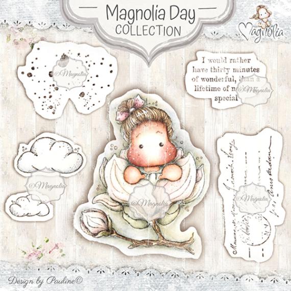 MD-19 Magnolia Day Art Stamp Kit