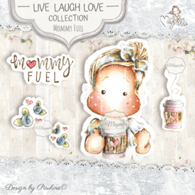 LLL-19 Mommy Fuel Art Stamp Sheet
