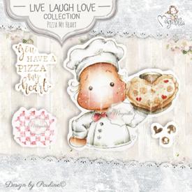 LLL-19 Pizza My Heart Art Stamp Sheet