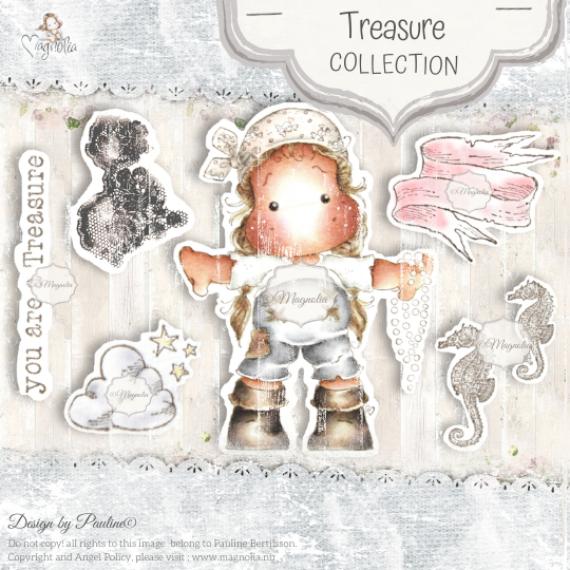 OUT-20 Treasure Art Stamp Sheet