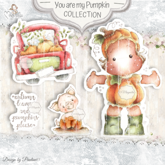QH-20 You are my Pumkin Art Stamp Sheet