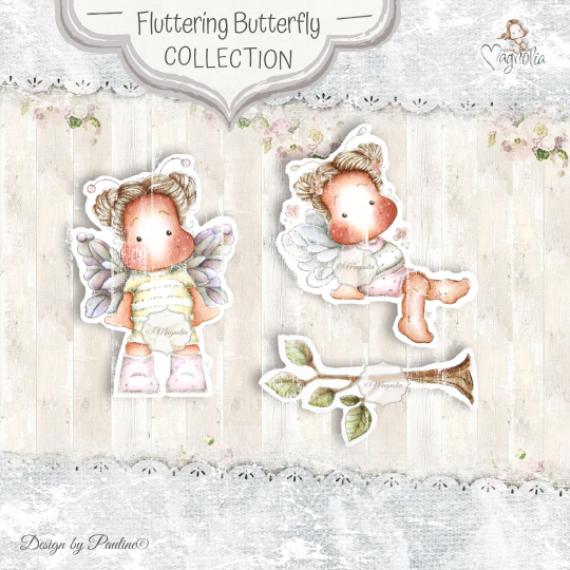 FF-20 Fluttering Butterflies mini Stamps