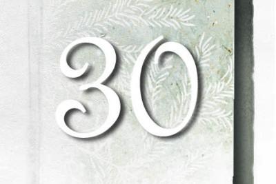Magnolia Advent Calendar shutter no 30