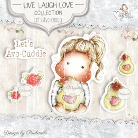 LLL-19 Let's Avo-Cuddle Art Stamp Sheet