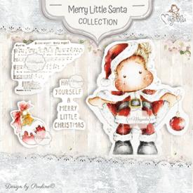 MCC-19 Merrry Little Santa Art stamp Sheet