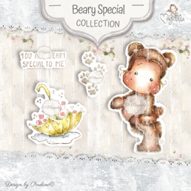 BS-20 Beary Special Art stamp Sheet
