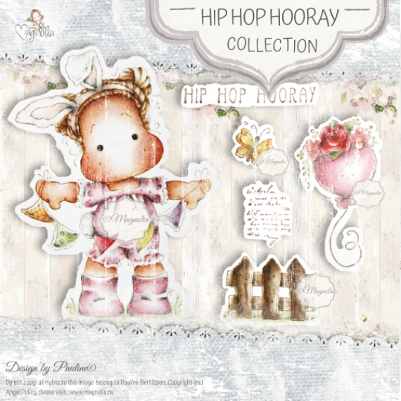 SB-20 Hip Hop Hooray Art Stamp Sheet