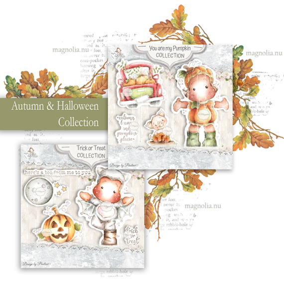 QH-20 Autumn & Halloween Collection Art Stamp Sheet