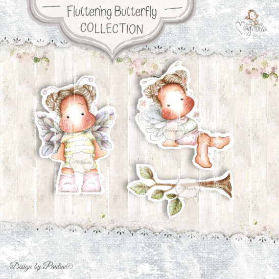 FF-20 Fluttering Butterflies mini Stamps