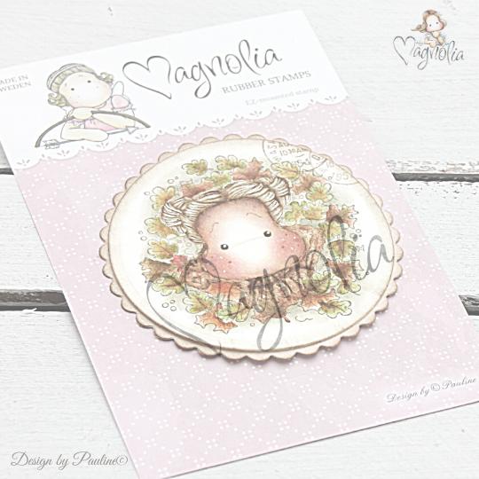 art stamp magnolia