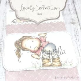 Magnolia Rubber Stamp
